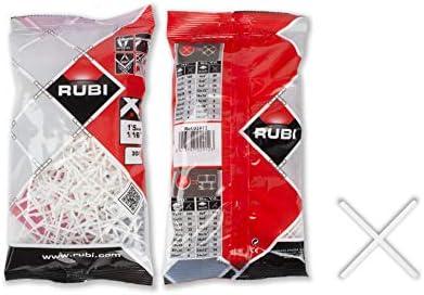 Rubi 2912 crucetas para juntas, Blanco, 1.5 mm, Set de 300 Piezas: Amazon.es: Bricolaje y herramientas