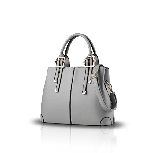 Messenger Shoulder Ladies Bag Portable Ruiren Gris Casual Handbag S8ZnxwwB