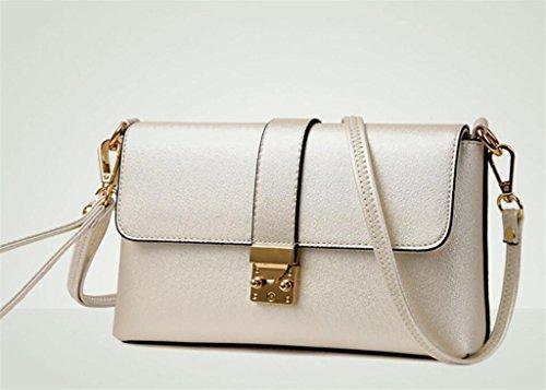 Vino Borsa Colores De Bao Shopping Rosso tracolla Señora Package Bianco Cuatro a Diagonal Bolso Cross quotidiano moda Turismo qZtgt6H