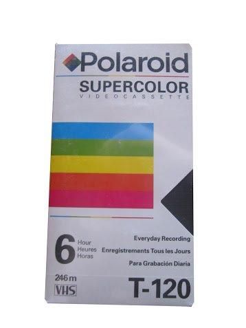 Polaroid Supercolor Video Cassette VHS T-120