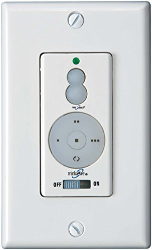 Minka Aire Ceiling Fan Wall Control WCS212, 3-Speed Forward/Reverse, Up/Down Light Dimmer