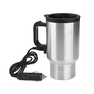 SAVAN Car Charging Electric Kettle Stainless Steel Travel Coffee