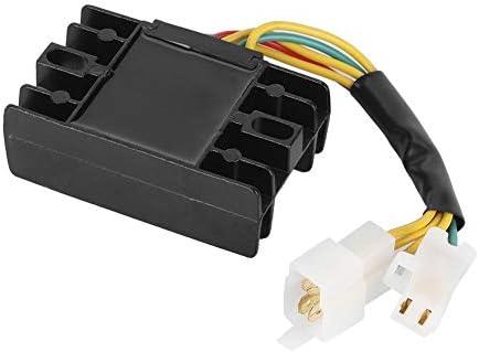 Akozon Regulador de voltaje rectificador para GN125 1982-83 91-97 GZ250 1999-00 02-10
