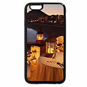 iPhone 6S Plus Case, iPhone 6 Plus Case, candlelight dinner on the beach at sunset