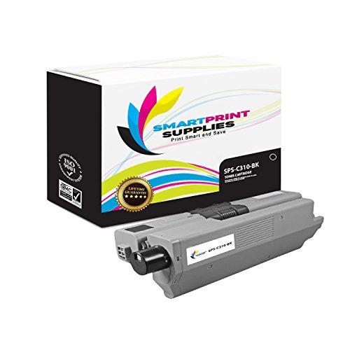 Smart Print Supplies Compatible 44469801 Black Toner Cartridge Replacement for Okidata C310 C30 C331 C510 C530 C531, MC352 MC361 MC362 MC561 MC562 Printers (3,500 Pages) ()