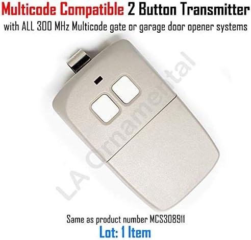 Car Visor Garage Door Remote Opener Control Clicker for Linear 3089 Multi-Code