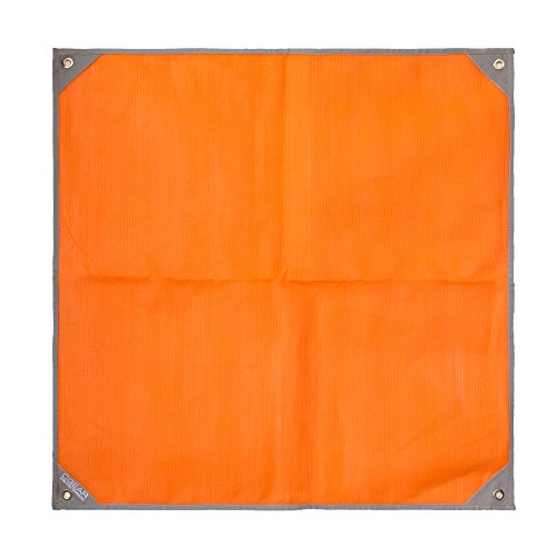 CGear Sand-Free Personal Mat 3' X 3' With Carry Bag Orange by C-GEAR