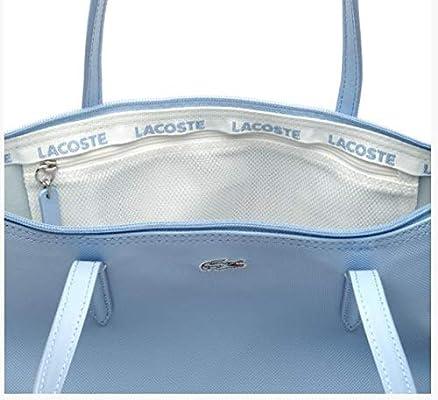 7e6500da7c LACOSTE WOMEN'S L.12.12 CONCEPT SMALL ZIP TOTE BAG - NF189PO: Amazon.com