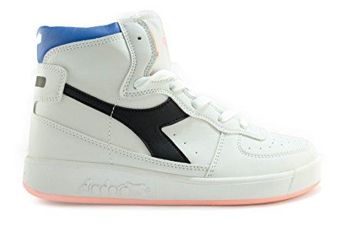 Diadora I Basketball II Jr C2375, Unisex-Adult, Bianco