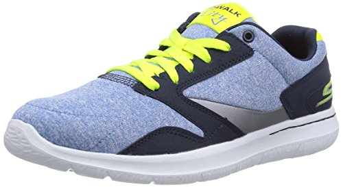 nbsp;uptown Deportiva Skechers Mujer City Go De Blau Zapatilla Azul Material Sintético Walk nvlm HtXZqw1rX