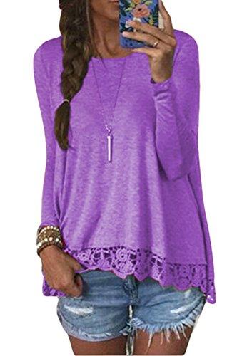 POGT Womens Sleeve Blouse T shirt