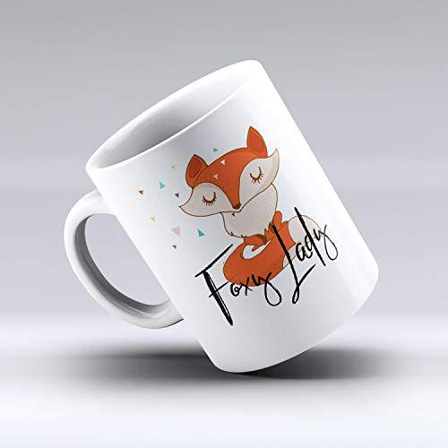 Foxy Lady, Foxy Lady Coffee Mug, Fox Mug, Cute Mug, Fox Mug, Funny Quote Mug, Fox Gift, Funny Coffee Mug ()