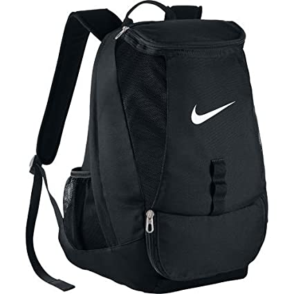 Amazon Com Nike Men S Club Team Swoosh Soccer Backpack Black
