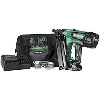 Hitachi Nc40g Gas Powered Concrete Nailer 1 9 16 Concrete Nail