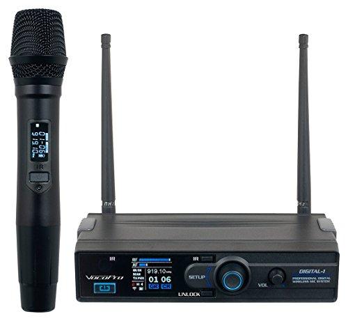 Vocopro Digital-1 900MHZ Wireless Rechargable Karaoke Microphone Mic (Vocopro Sub)