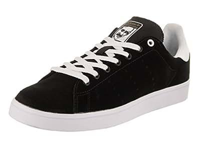 Adidas Men's Stan Smith Vulc Skate Shoe (7.5 D(M) US Mens, Black/White)