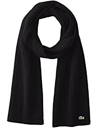 Men's Classic Wool Ribbed Scarf