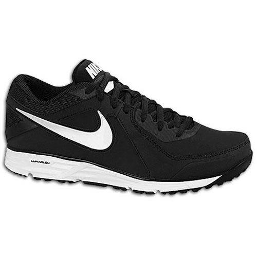 Nike Men's Lunar MVP Pregame Baseball Shoes, 524640-010 (12.5 D(M) US, Black/White)