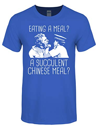 T-shirt Eating A Meal A Succulent Chinese Meal Men/'s Purple