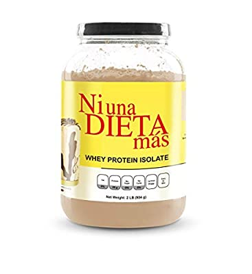 NI UNA DIETA MAS - Whey Protein Isolate (Delicious Chocolate) No Sugar, No Lactose, Easy to Mix