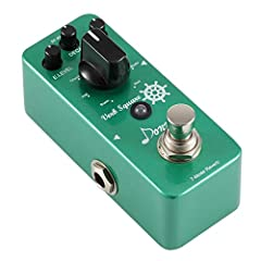 Product Introduction The New Reverb pedal from Donner Company with the name of Verb Square, which is also a digital circuit pedal. 7-Mode Reverberation effects in the whole Aluminium-alloy stomp box. One pedal let you have 7 different effect ...