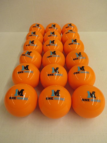 - 1M or One More Coaches Bucket 18 1M Weighted Heavy Training Baseballs Softballs Hitting Batting