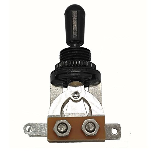 3 Way Short Straight Guitar Toggle Switch Pickup Selector for Gibson Epiphone Les Paul LP SG Electric Guitar -