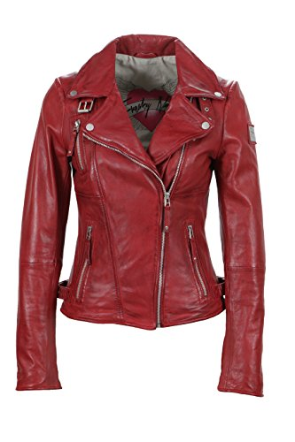 Freaky apple Nation Rosso Biker Princess Red Giacca Donna 4q4rf