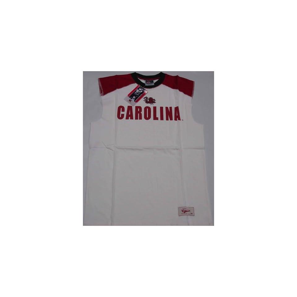 South Carolina Gamecocks Muscle T Shirt (Size Large)
