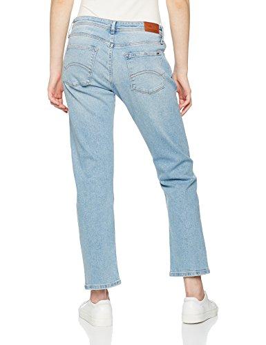 Destructed Femme Jeans Jeans Straight Bleu Lana Cropped Blue Tommy Fresh Frlbl Light apPXnwYYq