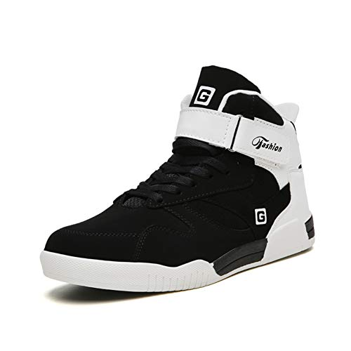 Leader Show Men s Athietic Lace Up Sneaker Fashion High Top Running Shoes