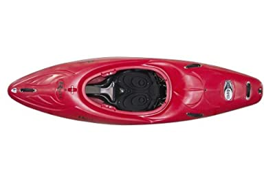 Magnum 80 Riot Kayaks Red 8ft Whitewater Creeking Kayak