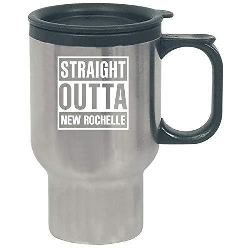 Straight Outta New Rochelle City Cool Gift - Travel Mug -