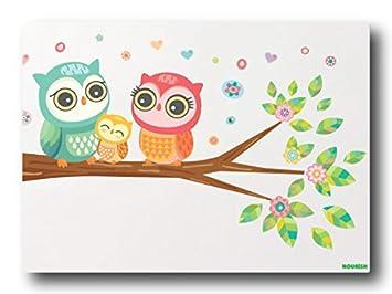 Nourish Owl Family Magnets  Home   Kitchen