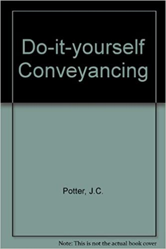 Do it yourself conveyancing amazon jc potter do it yourself conveyancing amazon jc potter 9780907061953 books solutioingenieria Choice Image
