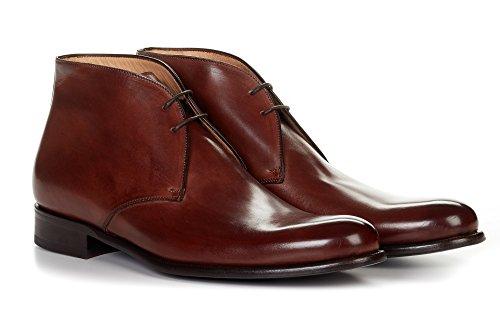 Paul Evans The Newman Chukka Boot - Marrone Marrone