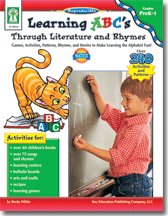Read Online Learning 123's Thought Literature and Rhymes: Games, Activities, Patterns, Rhymes, and Stories to Ma ebook