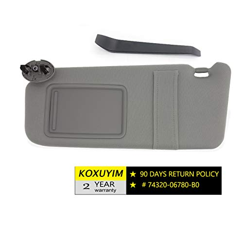 car sun visor replacement - 6