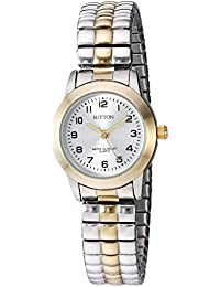 Women's SU/1008SVTT Easy to Read Two-Tone Expansion Band Watch