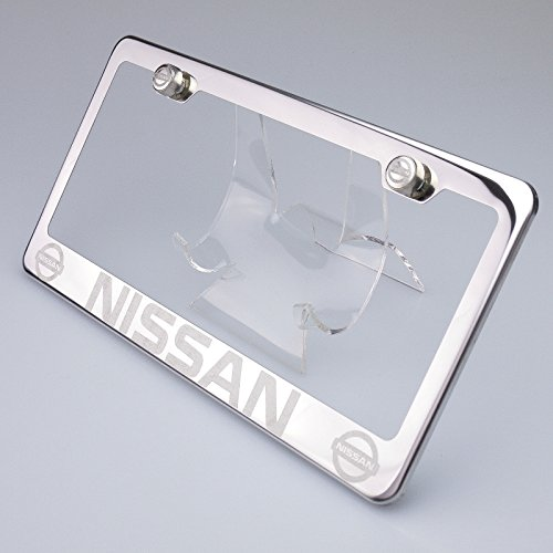 license plate frame nissan leaf - 6