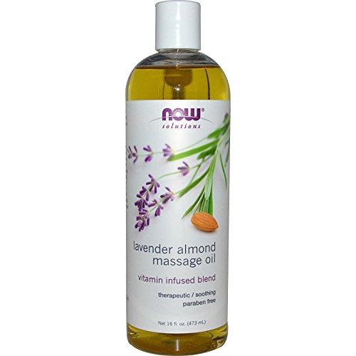 Now Foods, Massage Oil Almond, 16 Fl Oz ()