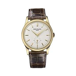 Best Epic Trends 41Q4TUZYBKL._SS300_ Patek Philippe Calatrava 18kt Yellow Gold Mens Watch 5196J