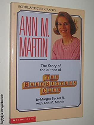 book cover of The Story of the Author of the Baby-sitters Club