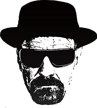 Heisenberg Breaking Bad Walter Vinyl Decal BUY 2  GET 1  FREE Automatically