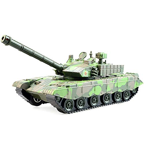 Luccky 2019 New Pull Back Car Toy British Armoured Tank Chieftain Large Friction Tank Die Cast Model Tanks Realistic Japan Vietnam War Military Battle Vehicles Xmas Gift for Kids Boy Children Party