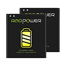 2 PCS RAQPower B600BC Durable 3000 mAh Li-ion Battery B600BU For Samsung Galaxy S4 SGH-I337