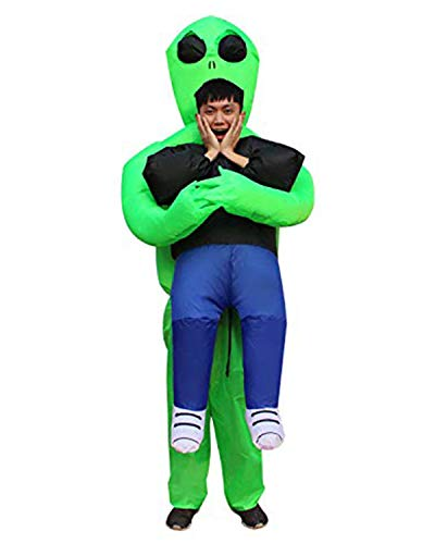 Alien Blow Up Doll - RETRO JUMP Inflatable Alien Costume Cosplay