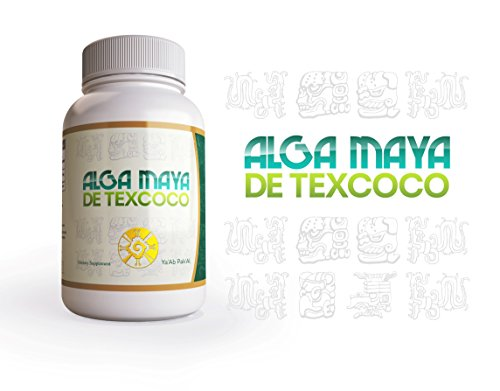 Alga Maya Spirulina - 500mg Maximum Strength Natural Supplement - 30 Day Supply - 60 Veggie Capsules (3) by Alga Maya