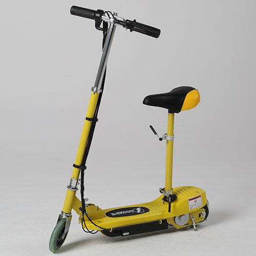 Kids Electric Scooter E Scooter E-scooter Yellow 120W Motor 24V...