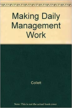 Book Making Daily Management Work